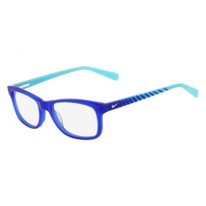 Nike 5509 Radiation Protection Glasses - Crystal Game Royal / Clear Water