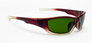 Model 703 Glassworking Safety Glasses - BoroView 3.0 - Brown Fade