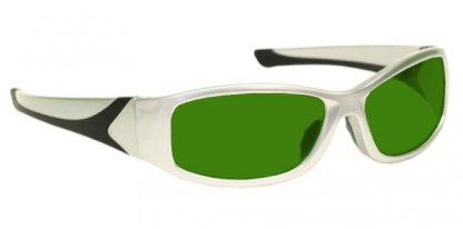 Model 808 Glassworking Safety Glasses - BoroView 3.0 - Silver