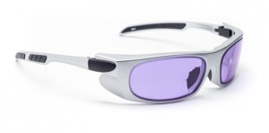 Model 1388 Glassworking Safety Glasses - Phillips 202 ACE - Silver
