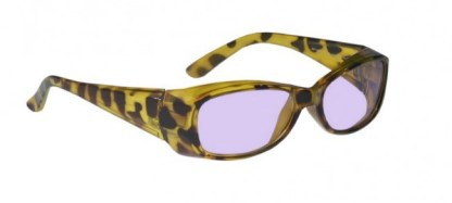 Model 375 Women's Glassworking Safety Glasses - Phillips 202 ACE - Tortoise