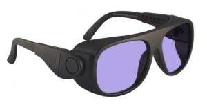 Model 66 Glassworking Safety Glasses - Phillips 202 ACE - Black