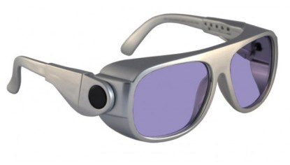 Model 66 Glassworking Safety Glasses - Phillips 202 ACE - Silver