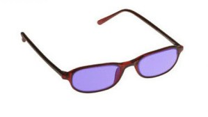 Downtown Designer Glassworking Safety Glasses - Phillips 202 ACE - Burgundy