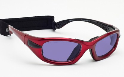 Model EGM Glassworking Safety Glasses - Phillips 202 ACE - Red