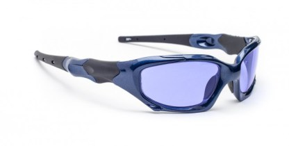 Model 1205 Glassworking Safety Glasses - Polycarbonate Sodium Flare - Blue