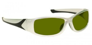 Blue/Green/Red Laser Strike Protection for Pilots and Police - Model 808 - Silver