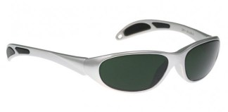 Model 208 Glassworking Safety Glasses - BoroView 5.0 - Silver