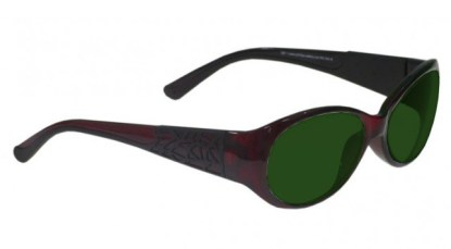 Model 230 Glassworking Safety Glasses - BoroView 5.0 - Red Black