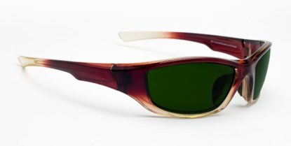 Model 703 Glassworking Safety Glasses - BoroView 5.0 - Brown Fade