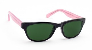 Geek Cat 01 Glassworking Safety Glasses - BoroView 5.0 - Black and Pink