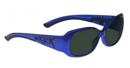 Model W200 Glassworking Safety Glasses - BoroView 5.0 - Blue and Black