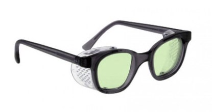 70 F Style Glassworking Safety Glasses - Light Green Filter