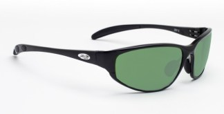 Model 533 Glassworking Safety Glasses - Light Green Filter  - Black