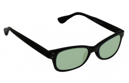 Barlow Glassworking Safety Glasses - Light Green Filter - Black