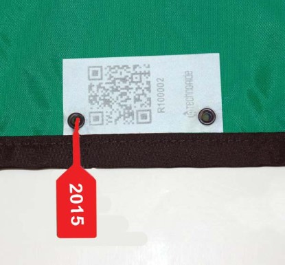 X-ray Apron Inspection Date Tags 2015