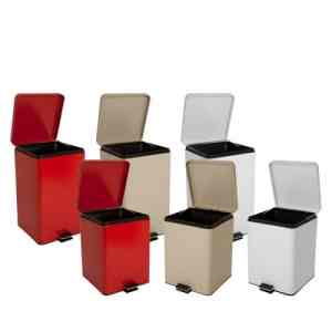 Square Trash Can / Waste Receptacle