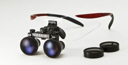 Dental Loupe in Sport/Wrap Frame: 2.5x-3.5x - Red