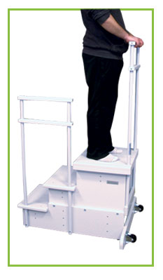 3-Step Platform with Side Rail for CR & DR Systems