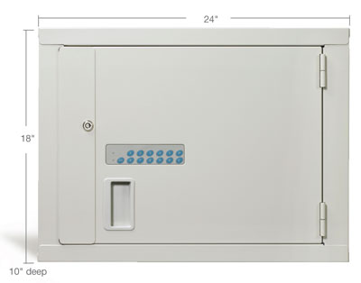 Medium High-Security Narcotic Storage Cabinet