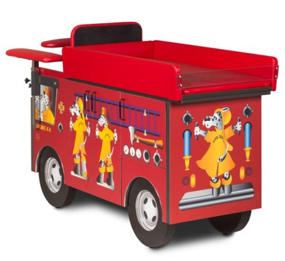 Pediatric Series - Fire Engine Blood Drawing Chair
