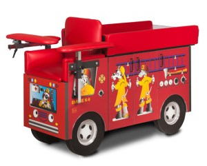 Pediatric Series – Fire Engine Blood Drawing Chair