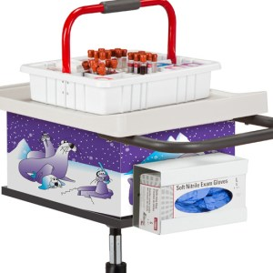 Pediatric Cool Pals Phlebotomy Cart