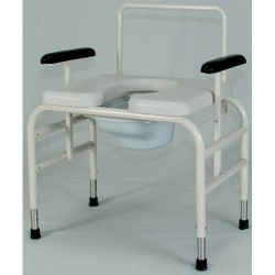 Bariatric Bedside Commode