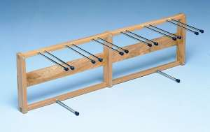 Model 790 - Crutch and Cane Rack