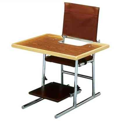 Model 154 - Adjustable Chair (Optional Tray Shown)