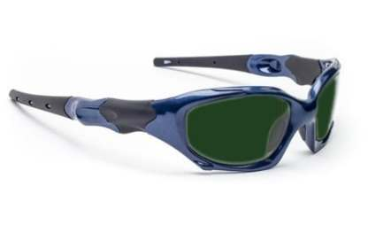 Model 1205 Quartz Working Shaded IR Safety Glasses - Blue