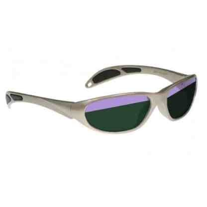Model 208 Glassworking Split-lens Safety Glasses - Taupe