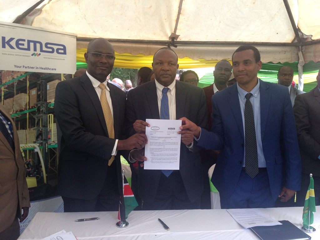 Kericho County MOU Signing