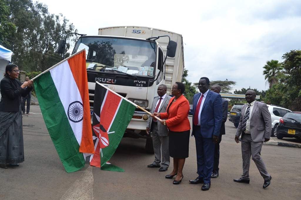 MOH – Government of India and KEMSA Flag Off