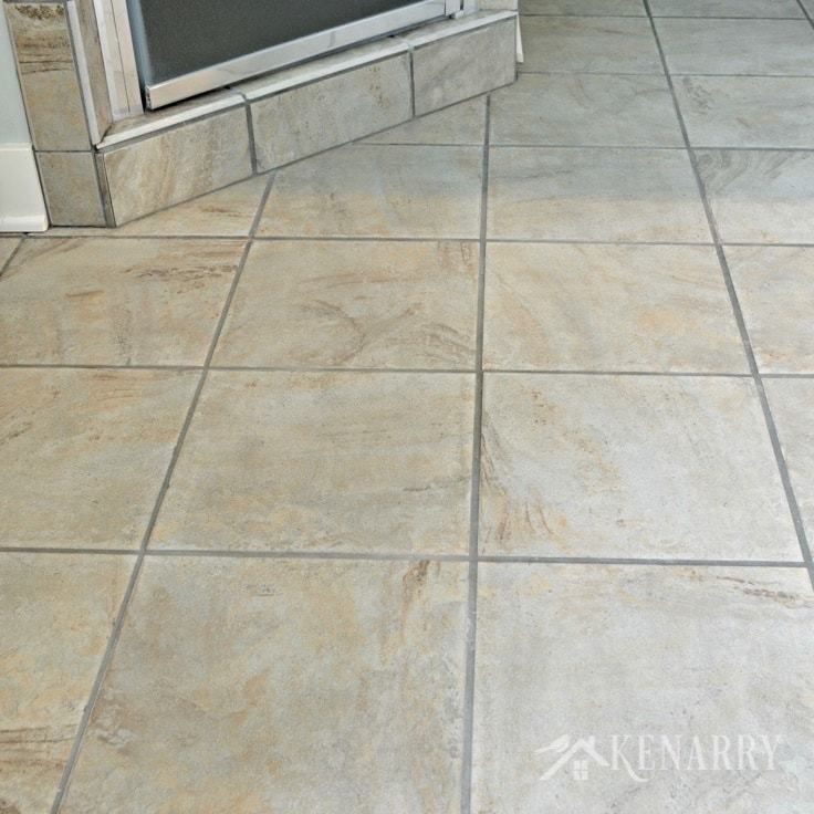 clean tile floors easily without