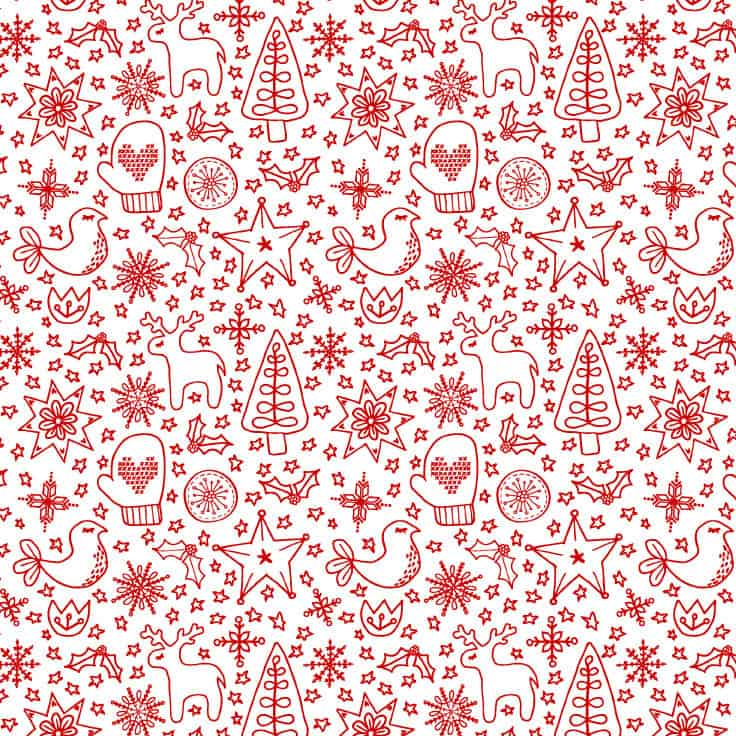 Printable Christmas Wrapping Paper Free Download Kenarry