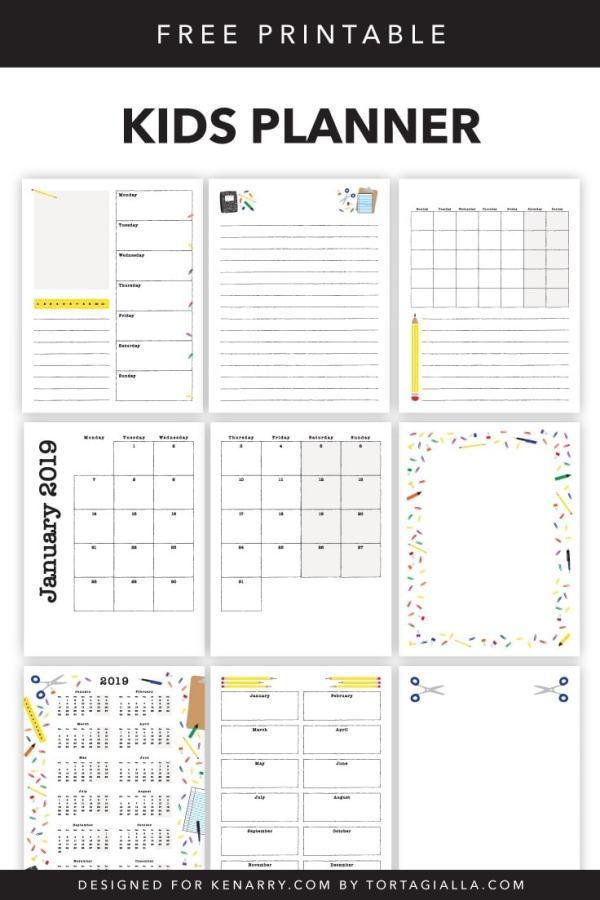 free printables planner # 27