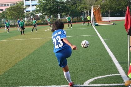 Corner Kick Sepak Bola