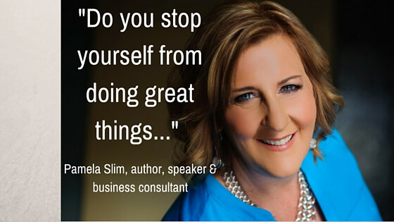Pamela Slim, author of Escape from Cubicle Nation & Body of Work