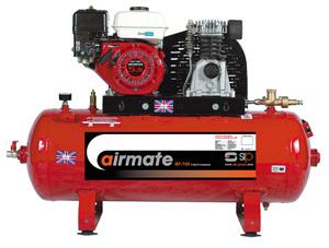 SIP 04452 – Airmate Industrial Super Compressor – ISHP8/110 Ltr (Honda Engine)