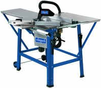 TS310 12″ Table saw with sliding table,rear and right hand extension table plus two TCT blades.