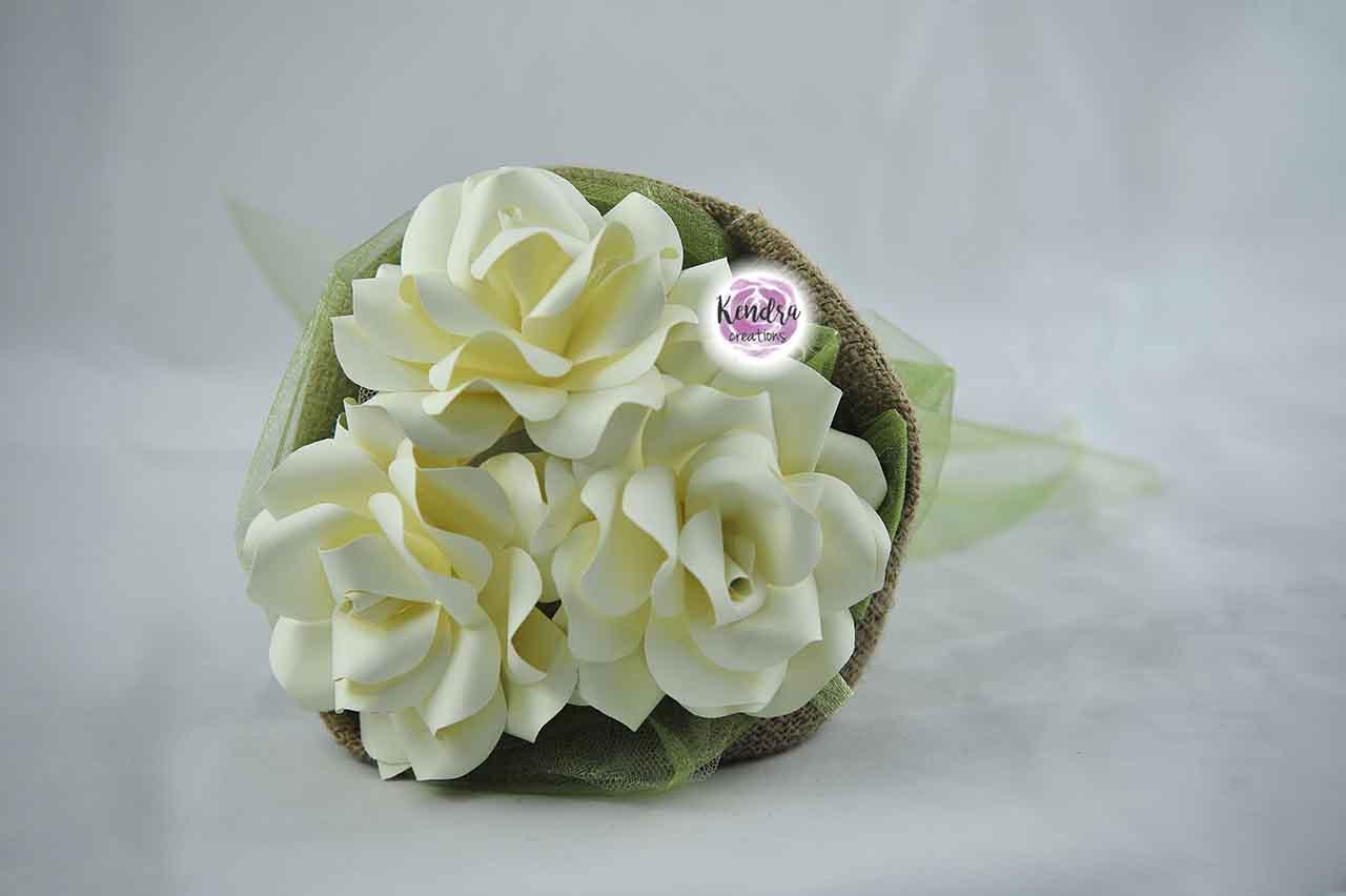 Bouquet prima comunione carta