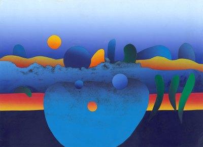 <strong><em>Desert Landscape</em></strong>, 2012