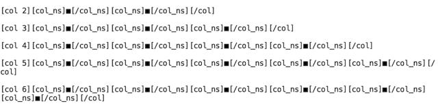 賢威8のショートコード(カラム2)