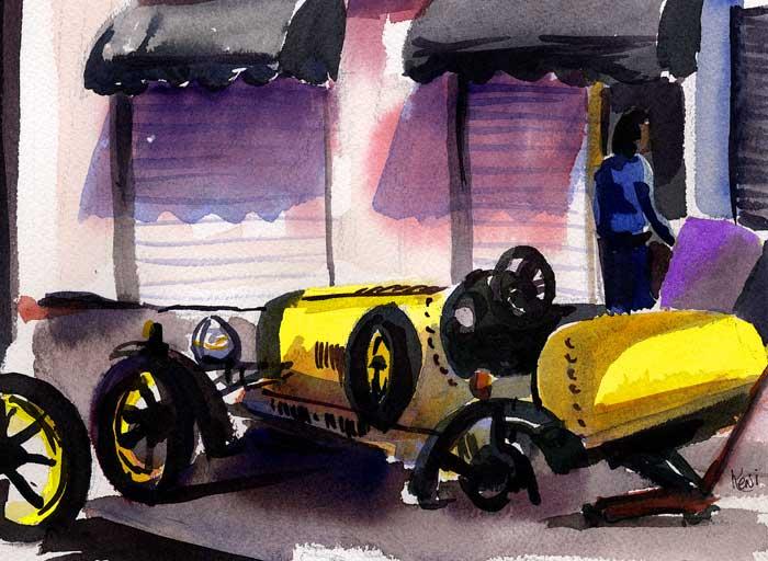 The Gospel and the Bugatti