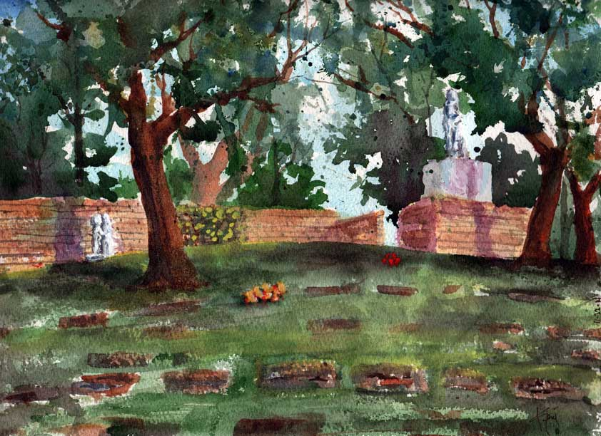 Syd Mead, Forgotten Gravesite, Remembered Mom