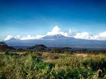 Serengeti Kenia Kilimandscharo