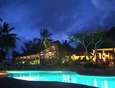 Hotel baobab 4 sterne + am strand in Diani Beach Kenia