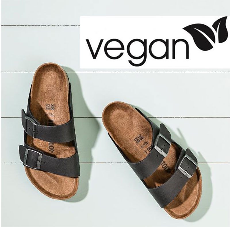 birkenstock vegan footwear sandals black