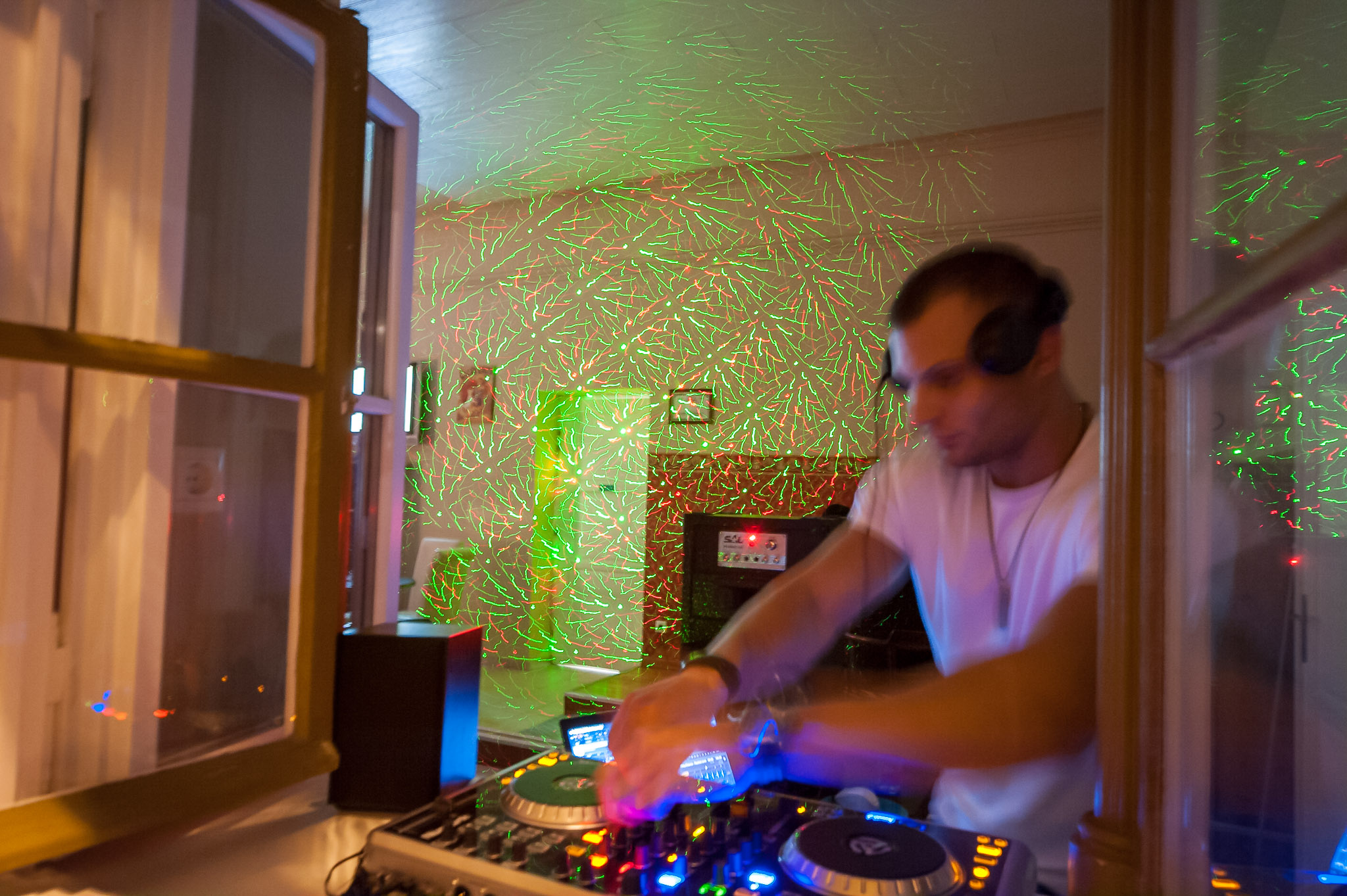 A DJ in Budapest